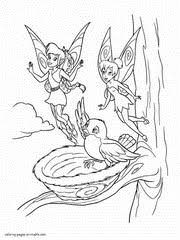 Small Picture Fairy coloring pages Tinkerbell