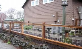 wire fence designs. Delighful Wire Q Hog Wire Fence Design Construction Resources Diy Fences Landscape  Woodworking Projects On Wire Fence Designs W