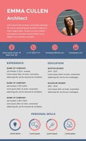 Creative Infographic Resume Templates Available In Visme ...