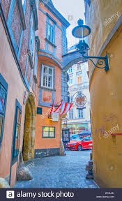 Vienna Austria February 18 2019 Historical Greek Quarter Boasts