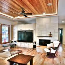 Wood Tray Ceiling is Center of Attention