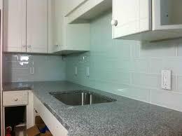Blue Floor Tiles Kitchen Kitchen Popular White Blue Ceramic Glass Subway Tile Backsplash