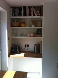 Kitchen Alcove Alcove Shelves Maybe For Above The Fireplace I Like That The