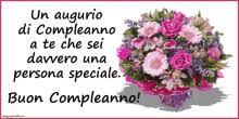 Buon compleanno con i fiori buongiornoateit. Compleanno Fiori Gifs Tenor