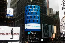 Nasdaq congratulates Triumf Health at Times Square - EIT Health