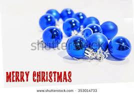 Small Decorative Balls Amazing Blue Small Decorative Christmas Balls On Stock Photo Royalty Free