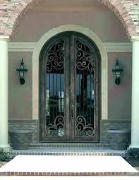 stained glass entry doors front perth