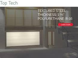top tech garage door