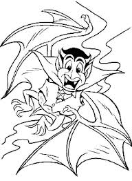 Small Picture Scary Dracula Halloween Coloring Pages Dracula Coloring Pages