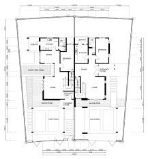 Interesting Semi Detached House Plans 92 On Interior Designing Home Ideas  with Semi Detached House Plans