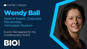 Events Re-imagined for the Contemporary World with Wendy Ball of Ashmolean  Museum – B4
