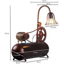 Tischlampe Industrial Look