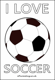 Soccer Football Colouring Pictures Best Of Eparenting Football