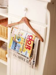 Magazine Holder Uses 100 Bathroom Storage Hacks That'll Help You Get Ready Faster 92