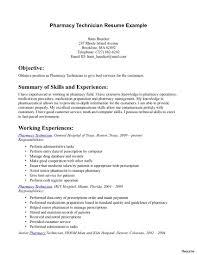 Pharmacy Technician Resume Objective Hospital Pharmacist Resume Objective Sidemcicekcom Pharmacy 3