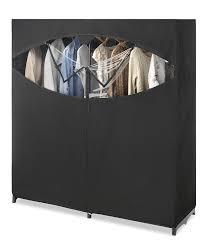 whitmor portable wardrobe clothes storage closet