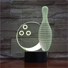 Light Bowling Amazon Com Night Light 3d Optical Illusion Light Bowling