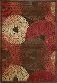 red brown and cream area rugs wonderful whole