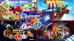 Evolution of Angry Birds Games 2009 - 2015 - YouTube