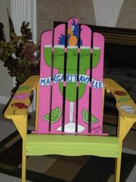 tropical painted furniture. painted adirondack chair tropical furniture d