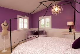 teenage bedroom designs purple. Example Of A Classic Kids\u0027 Room Design In Seattle With Purple Walls Teenage Bedroom Designs E