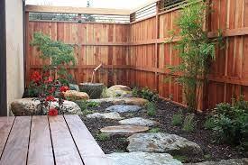 small courtyard gardens zen garden design