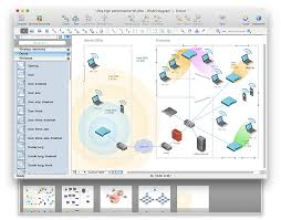 create powerpoint presentation from a wireless network diagram powerpoint conceptdraw wireless network topology