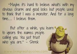 Shrek Quotes Stunning Shrek Quote Words Of Wisdom Pinterest Shrek Quotes Shrek