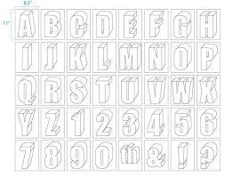 drawn lettering alphabet block 20