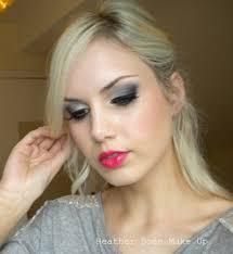 heather davern makeup grey eyeshadow tutorial with mac scene
