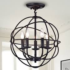 5 light globe pendant