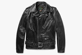 schott perfecto slim fit leather biker jacket
