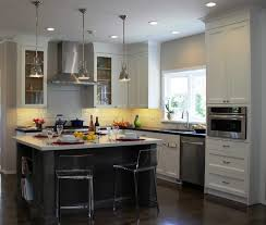 Stainless Steel Kitchen Cabinets Cost Chrome Pendant Lamp Golden Mesmerizing Kitchen Cabinet Backsplash