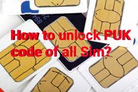 Insert a sim card from a different carrier into the device and turn it on. How To Unlock Puk Blocked Sim Card Unlock Puk Code
