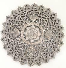 Top Honderd Flowee Wanddecoratie Houten Wandpaneel Mandala