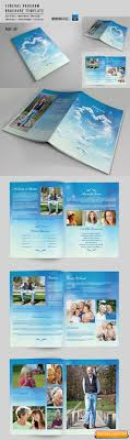 8 Page Funeral Booklet Template-V527 Free Download | Free Graphic ...