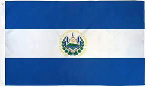 Amazon.com : 3x5 El Salvador Flag Central American Country Banner Pennant  Bandera Outdoor New : Outdoor Flags : Garden & Outdoor
