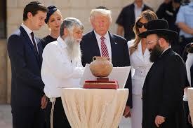 Resultado de imagen de Trump Israel