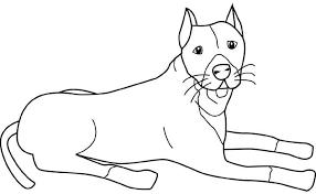 Kleurplaten Dieren Honden Kleurplaat