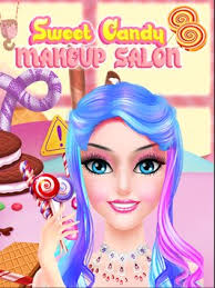candy makeup artist sweet salon games for s poster