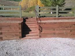 timber retaining walls in summit co