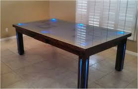Pool table dining top Reno Dining Room Pool Tables By Generation Chic Pool Conversion Pool Tables Dining Room Pool Tables By Generation Chic Pool