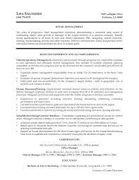 District Manager Resume Examples district manager resume samples Savebtsaco 1