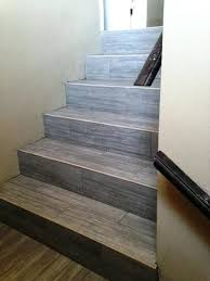 tile flooring stairs after photo of stairs porcelain tile stairway installing vinyl tile flooring on stairs tile flooring stairs