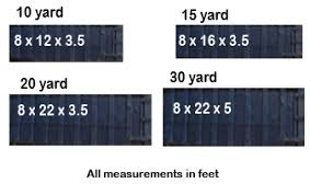 Dumpster Size Chart Roll Off Dumpster Rental Pittsburgh Pa
