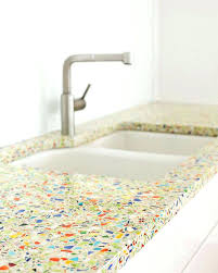 cost of recycled glass countertops bathroom astounding best recycled glass counter tops images on bathroom from