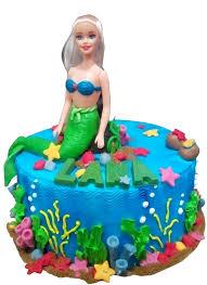 Mermaid Theme Cake Letorta