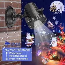 Outdoor Light Up Halloween Tree Us 17 99 35 Off Christmas Laser Projector Animation Effect Ip44 Indoor Outdoor Halloween Projector 4 12 Film Cards Snowflake Snowman Laser Light On