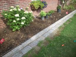 brick garden edging. garden edging materials for beds brick edged johan