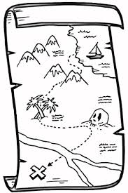 Treasure Map Coloring Page Free Printable Coloring Pages